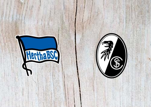 Hertha Berlin vs Freiburg - Highlights 21 October 2018
