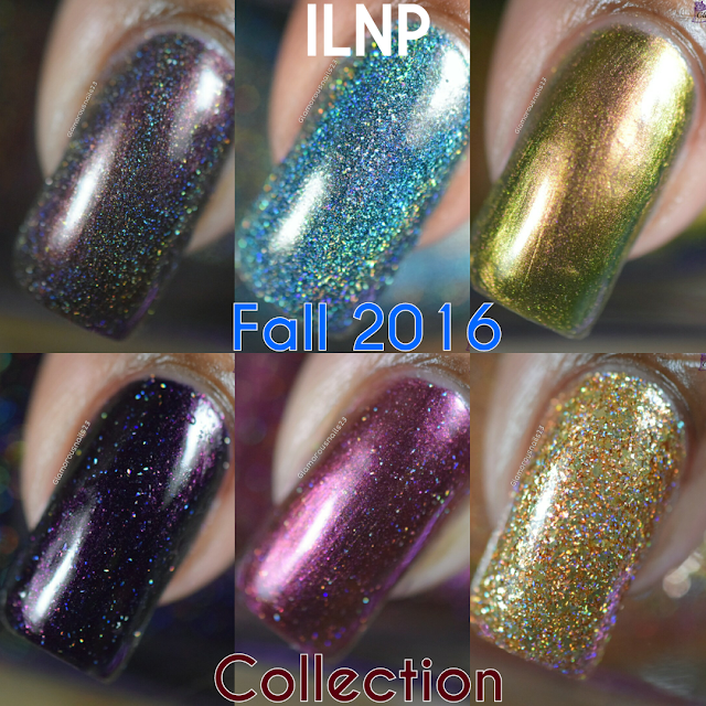 ILNP Fall 2016 Collection {My Picks} Swatches & Review
