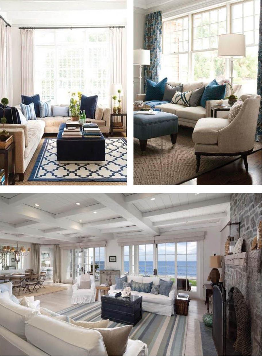 Hamptons Style : Shades of Blue | Coastal Style | Bloglovin