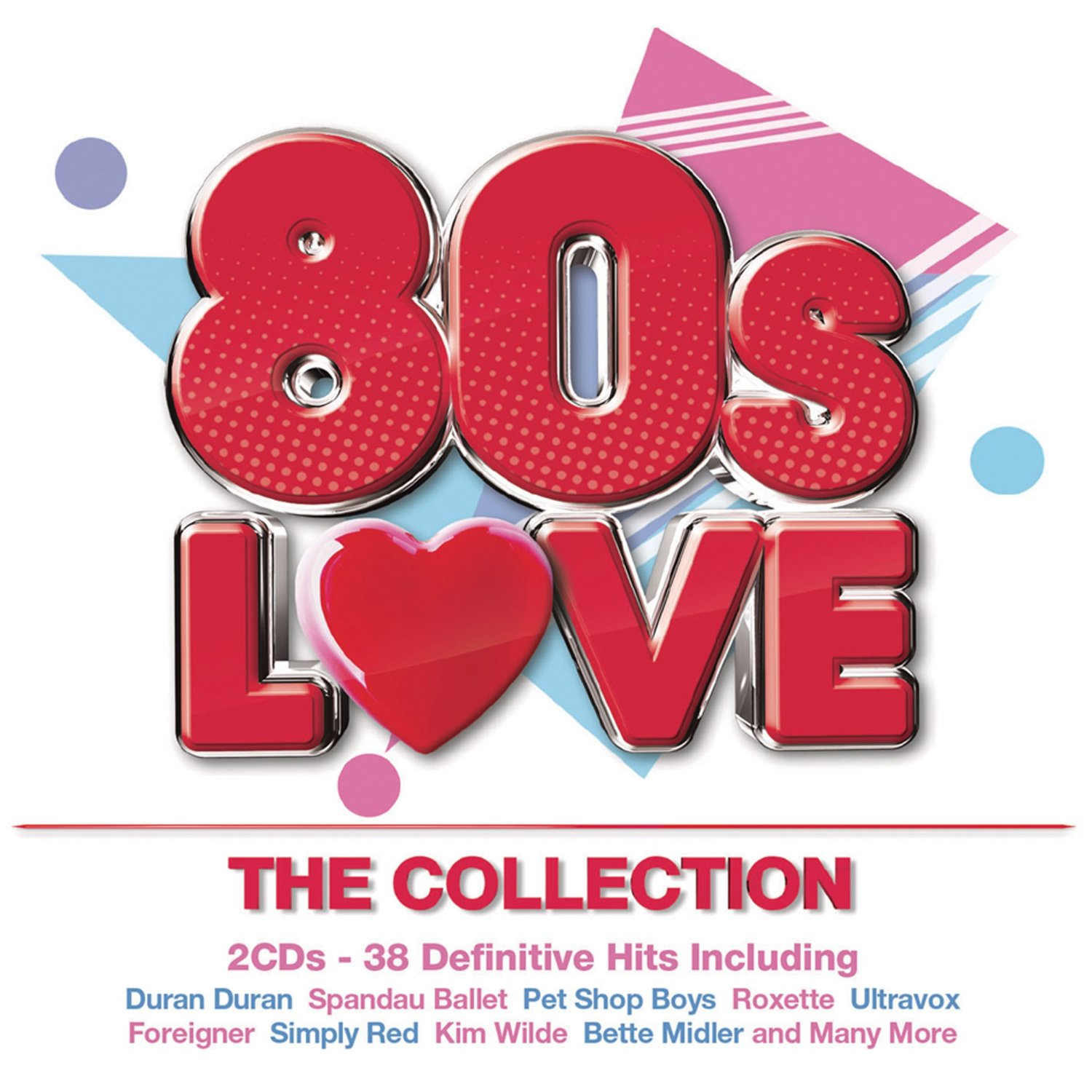 80s Love The Collection 2016 Cover