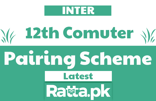 2nd year Computer Science Pairing Scheme 2020 - 12th Class Combination