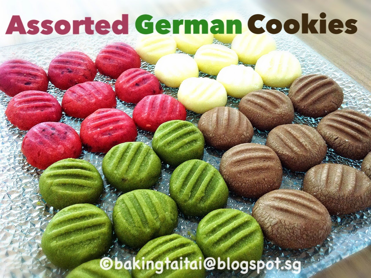 Baking taitai german melt in the mouth butter cookies these german butter cookies are loved by many who have tried it as it simply melts in your mouth my first attempt of these cookies was two years ago and it izmirmasajfo