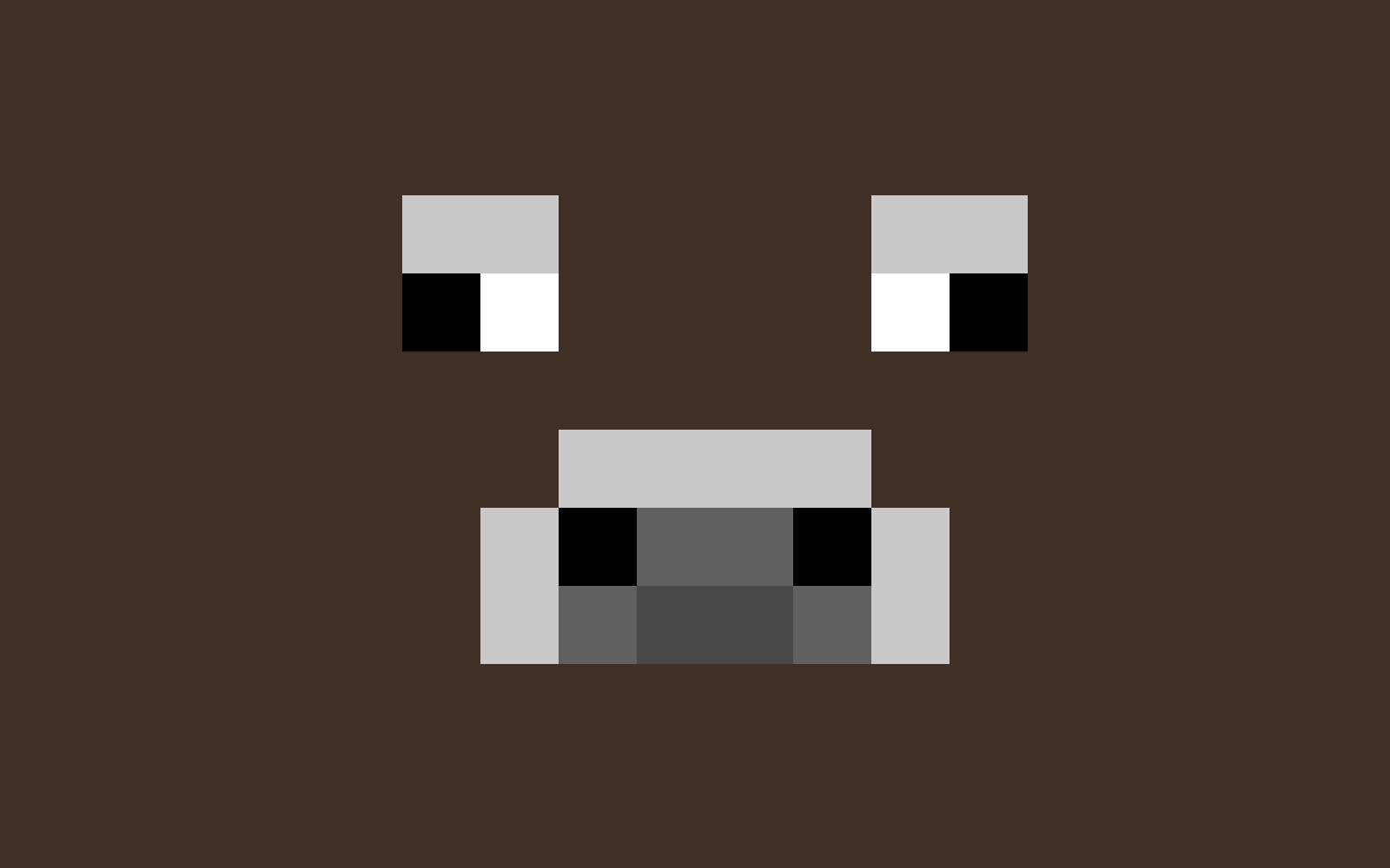 Minecraft Characters Faces Minecraft Cow Wallpaper
