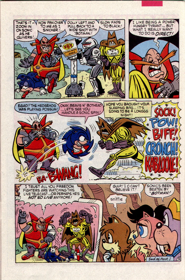 Read online Sonic The Hedgehog comic -  Issue #8 - 6