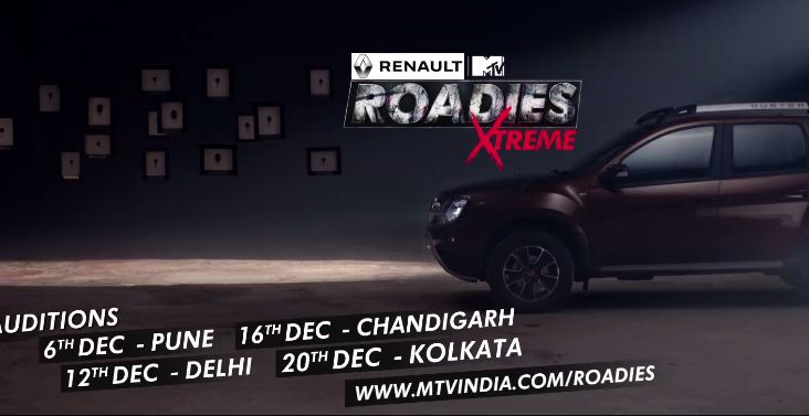 MTV Roadies Xtreme Auditions 2017-18 & Registration Form And Venue