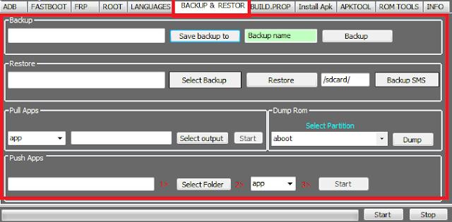 برنامج MS Tools V3.1 للتعامل مع جميع هواتف الأندرويد