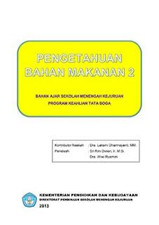 Download Buku Paket Mapel Pengetahuan Bahan Makanan 2 SMK Kelas 10 Kurikulum 2013 .PDF