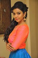 Nithya Shetty in Orange Choli at Kalamandir Foundation 7th anniversary Celebrations ~  Actress Galleries 074.JPG