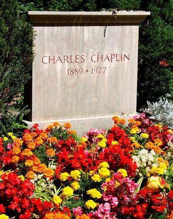 Tumba de Charles Chaplin