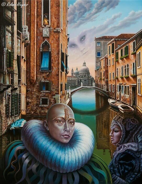12-Carnevale-di-Venezia-Roland-Heyder-Surreal-Oil-Paintings-on-Canvas-www-designstack-co