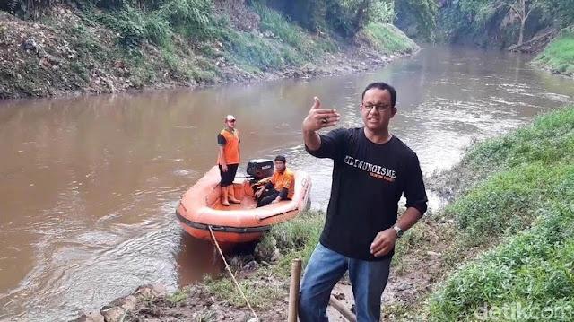Anies: Jika Air Hujan Masuk ke Tanah, Insyaallah Tak Ada Banjir