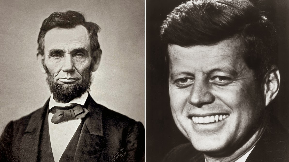 lincoln and kennedy assassination similarities Lincoln - kennedy coincidences 1) lincoln was elected in 1860, kennedy in 1960, 100 years apart  2) both men were deeply involved in civil rights for african americans.