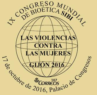 Matasellos Congreso bioética Gijón