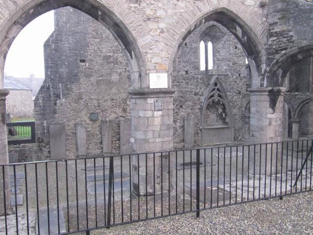 Abadía de Sligo arcadas