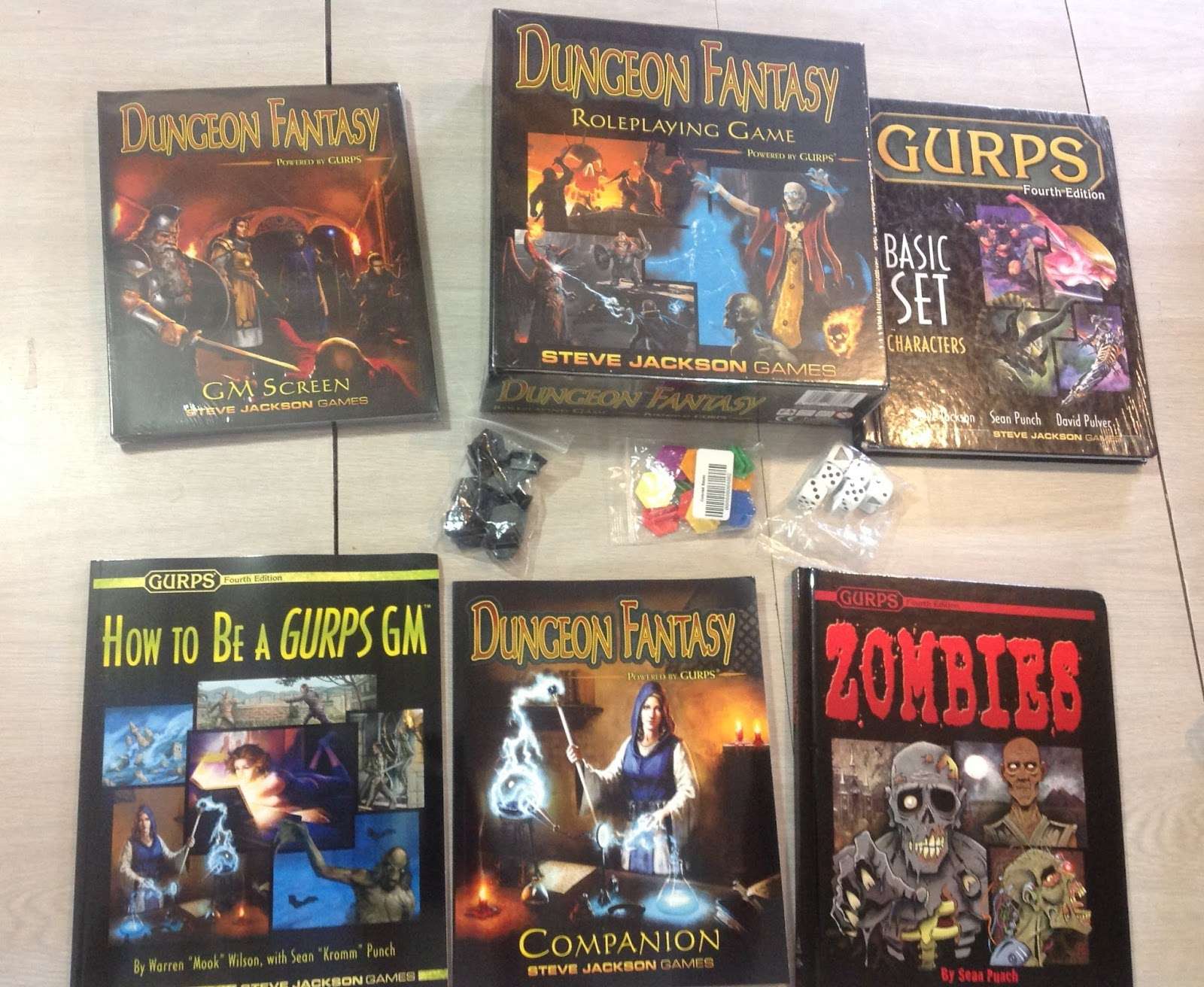 Bat in the Attic: Dungeons Fantasy RPG for GURPS has arrived