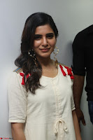 Samantha Ruth Prabhu Smiling Beauty in White Dress Launches VCare Clinic 15 June 2017 012.JPG