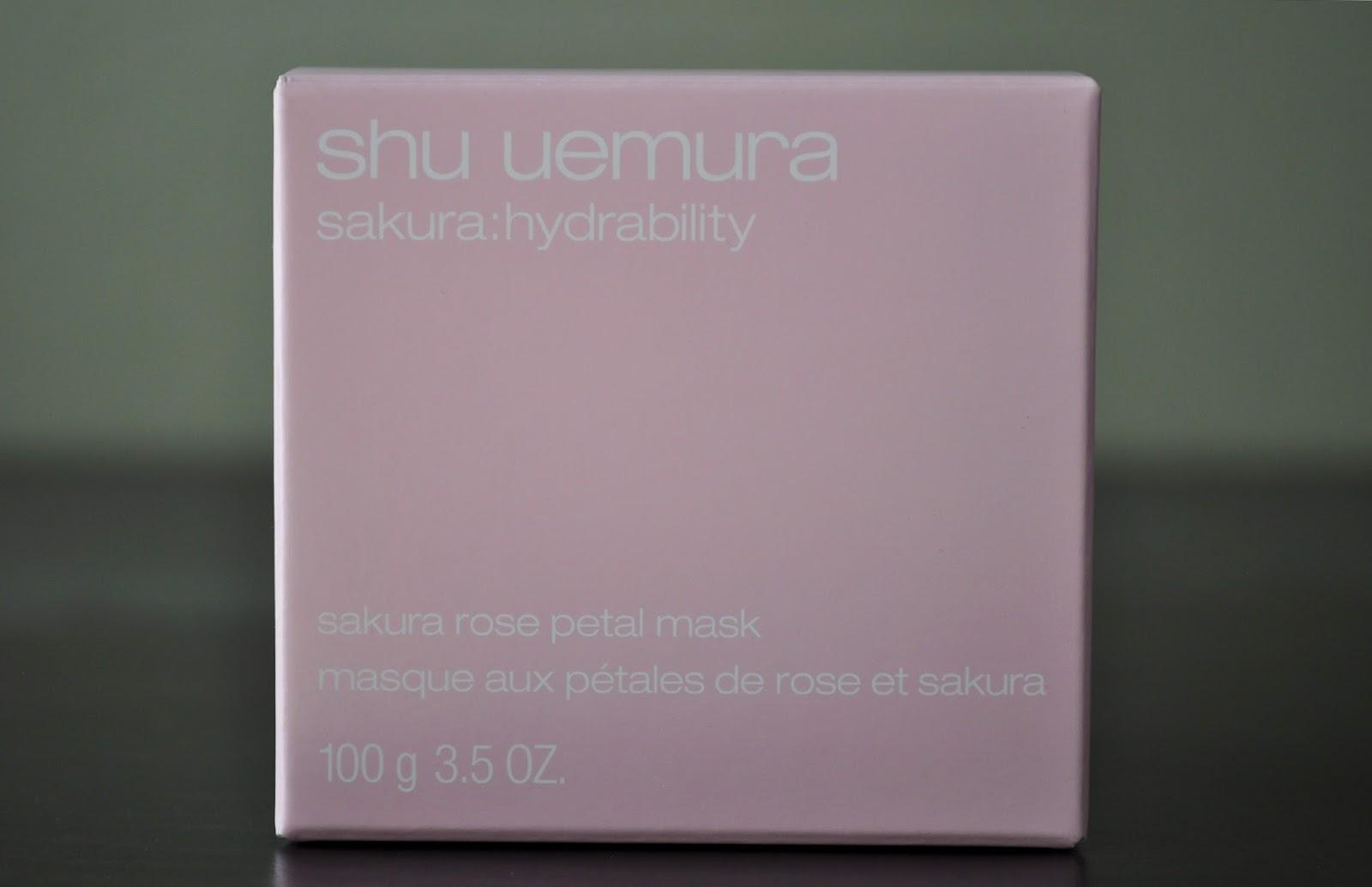 �ล�าร���หารู��า�สำหรั� Shu Uemura Sakura Rose Petal Mask