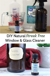 This diy window and mirror cleaner is an easy diy cleaning products recipe to make.  Cleaning with essential oils helps you get your home clean naturally.  This diy window cleaner natural has lemon essential oil to cut create.  DIY window cleaner essential oils for a natural clean.  Window cleaner homemade streak free thanks to a secret ingredient.  Window cleaner homemade with vinegar and rubbing alcohol.  #window #glass #mirror #essentialoils #diy #recipe #cleaning #naturalcleaning #ecofriendly #natural