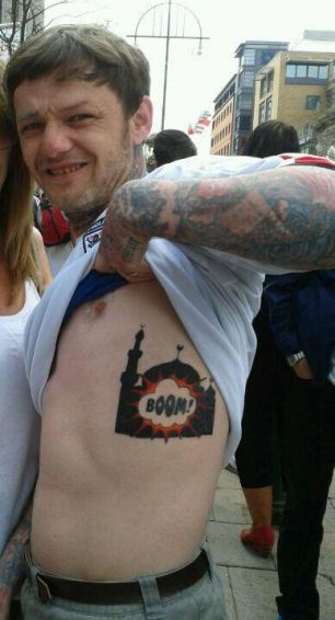 6be4c5939 Saberpoint: British Man Jailed For Displaying a Tattoo #Islam