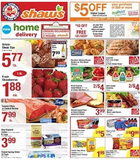 Shaws Weekly Ad May 18 - 24, 2018