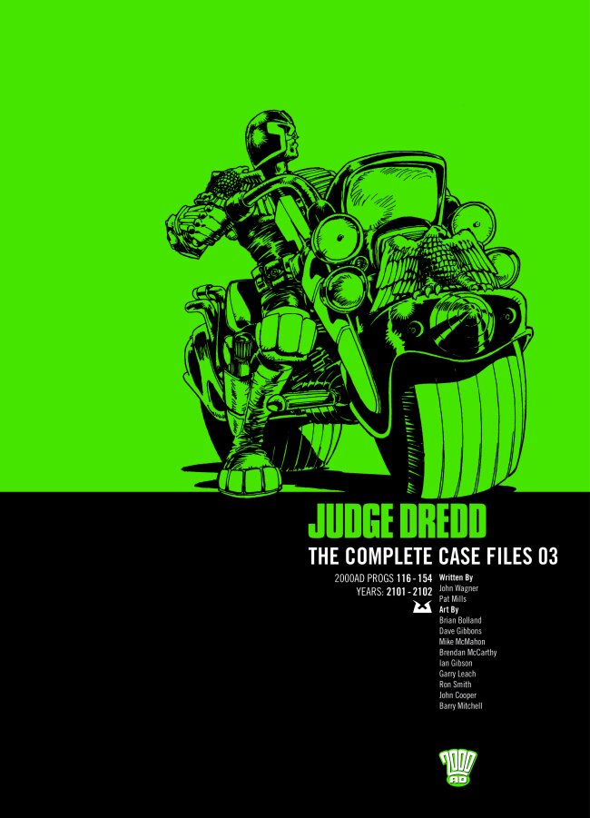 Judge Dredd: The Complete Case Files issue TPB_3 - Page 1