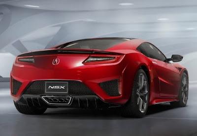 2018 Acura NSX Exterior Design