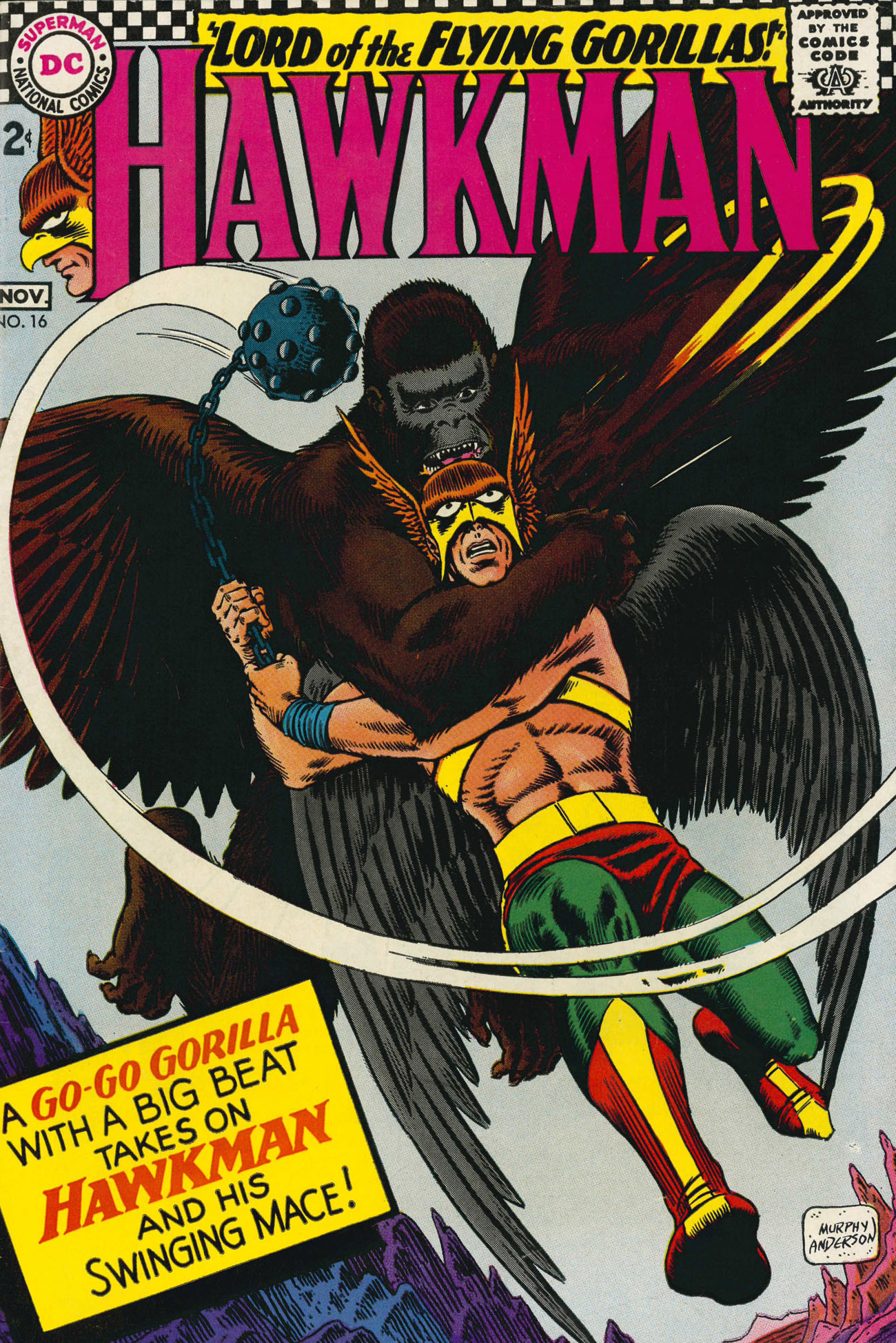Hawkman (1964) issue 16 - Page 1