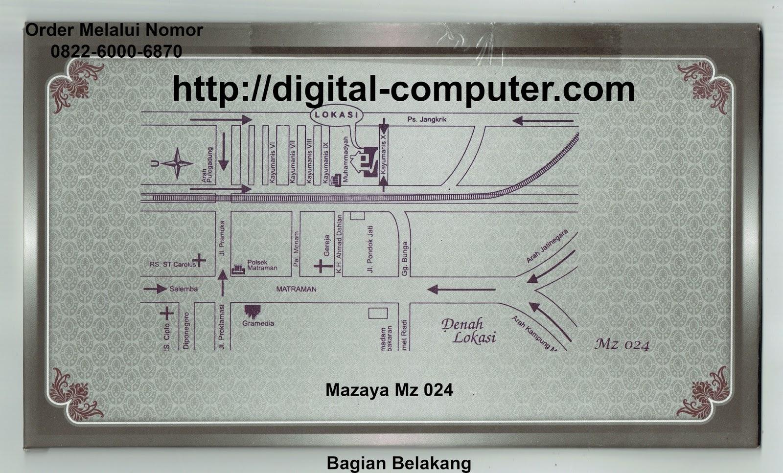 undangan hardcover Mz-024
