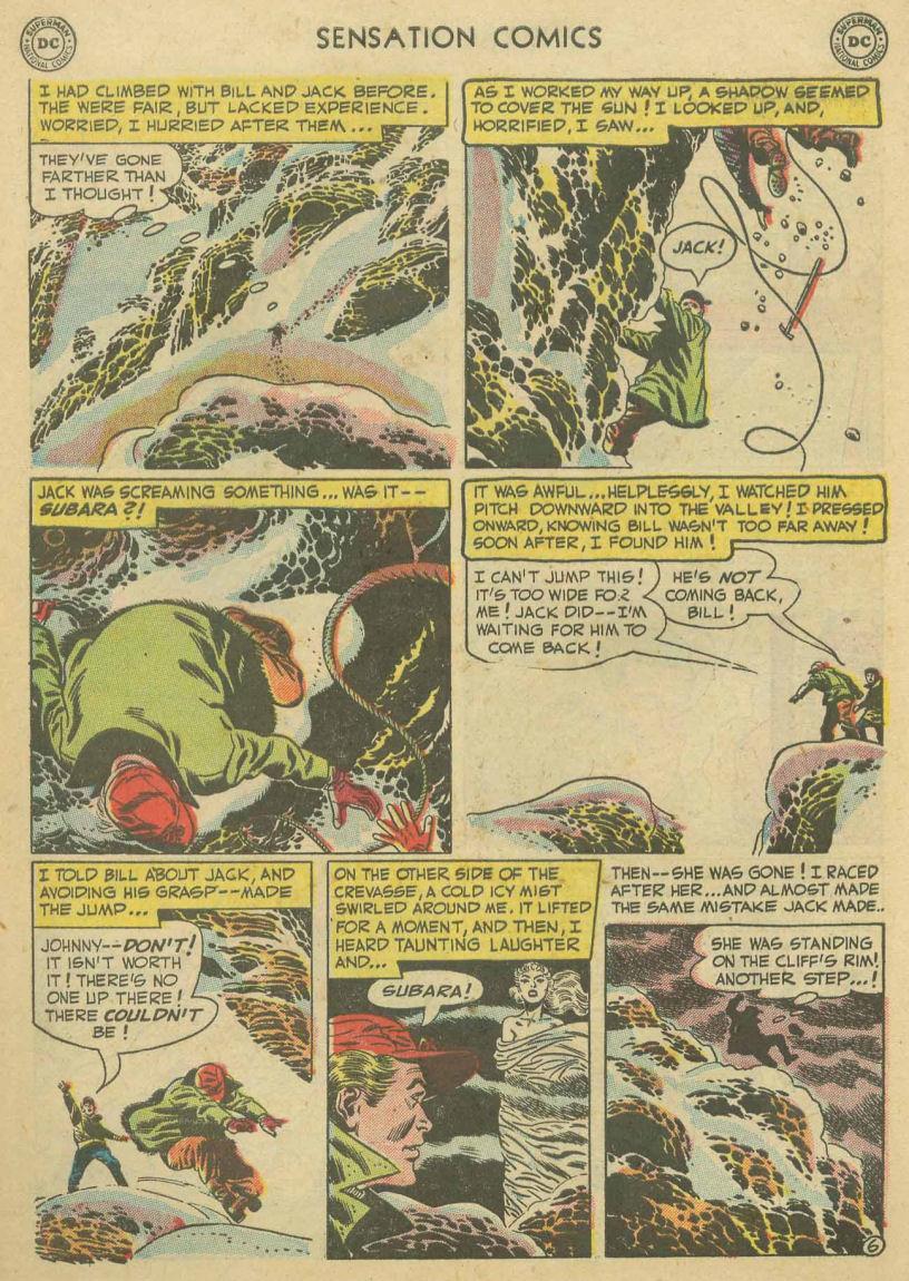 Read online Sensation (Mystery) Comics comic -  Issue #107 - 30