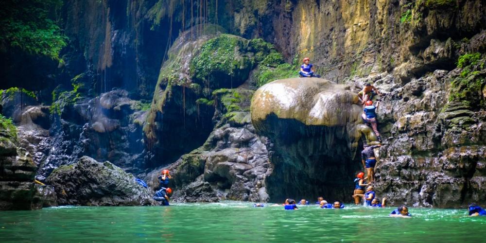 Cukang Taneuh, Green Canyon-nya Indonesia