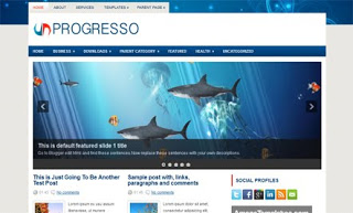 Progresso Blogger Template