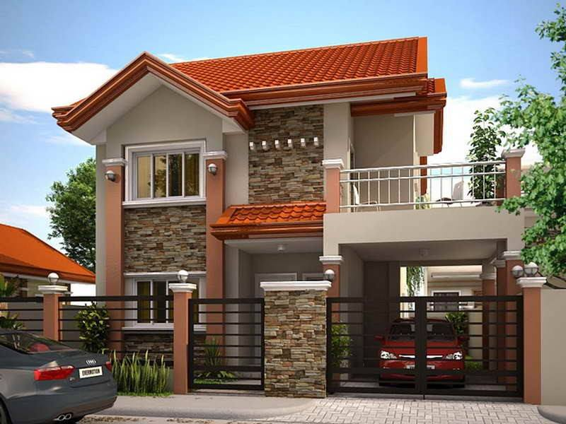 2 Story House Photos in the Philippines - Bahay OFW on