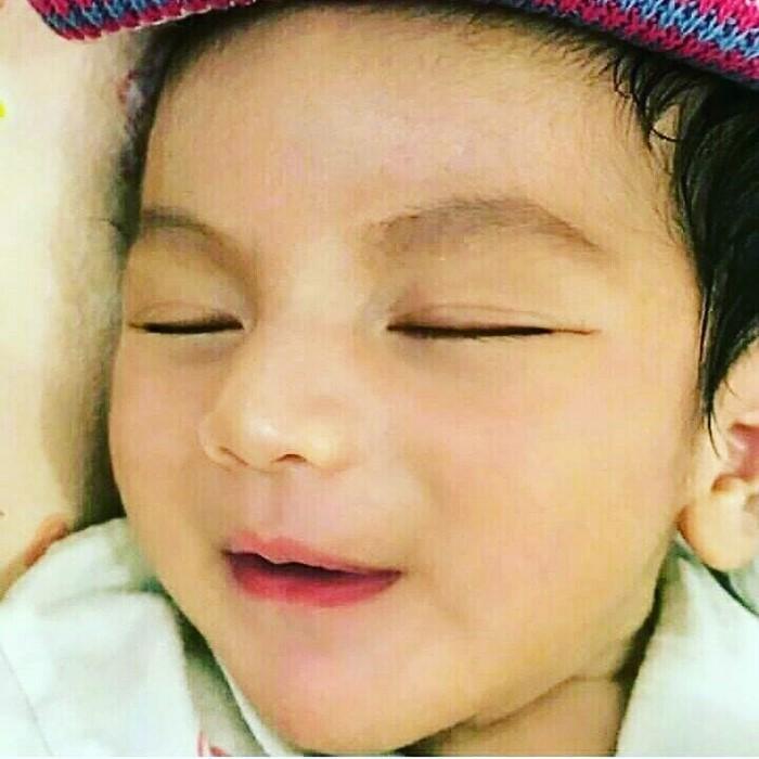 Foto Bayi Ganteng Arsya - IG