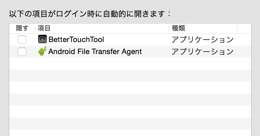 Macを毎回フリーズさせてくれるAndroid File Transferさんに