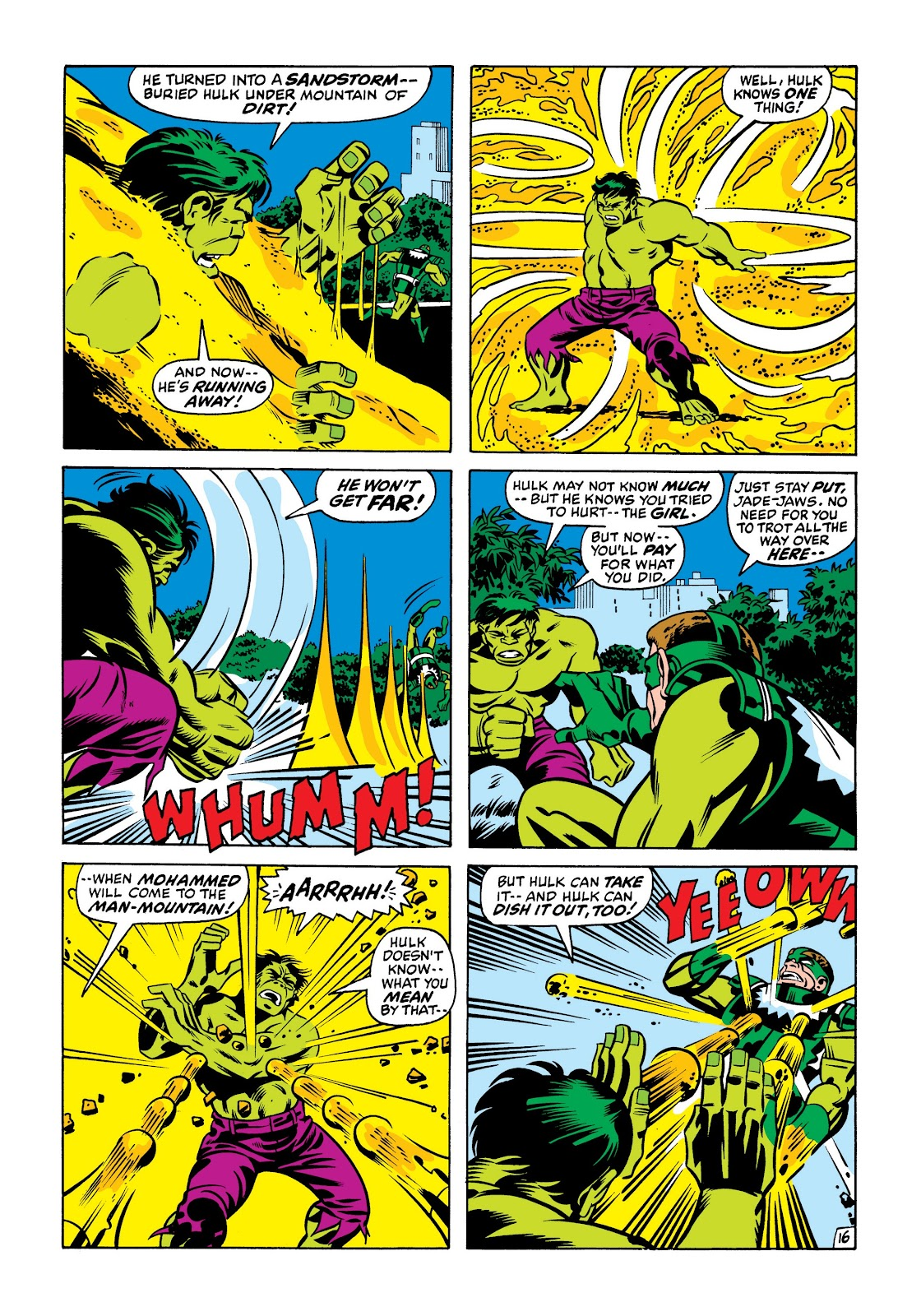 Read online Marvel Masterworks: The Incredible Hulk comic -  Issue # TPB 7 (Part 1) - 82
