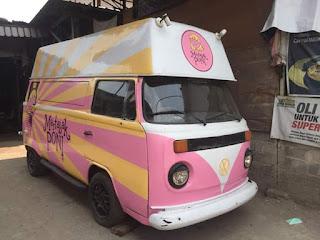 Dijual VW Kombi Food Truck Harga Gak Baper