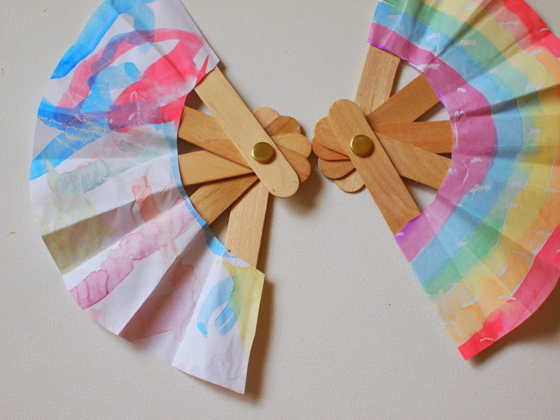 How to make Popsicle Stick Fan
