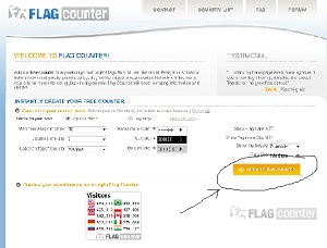 Cara Memasang Flag Counter Di Blog Wordpress