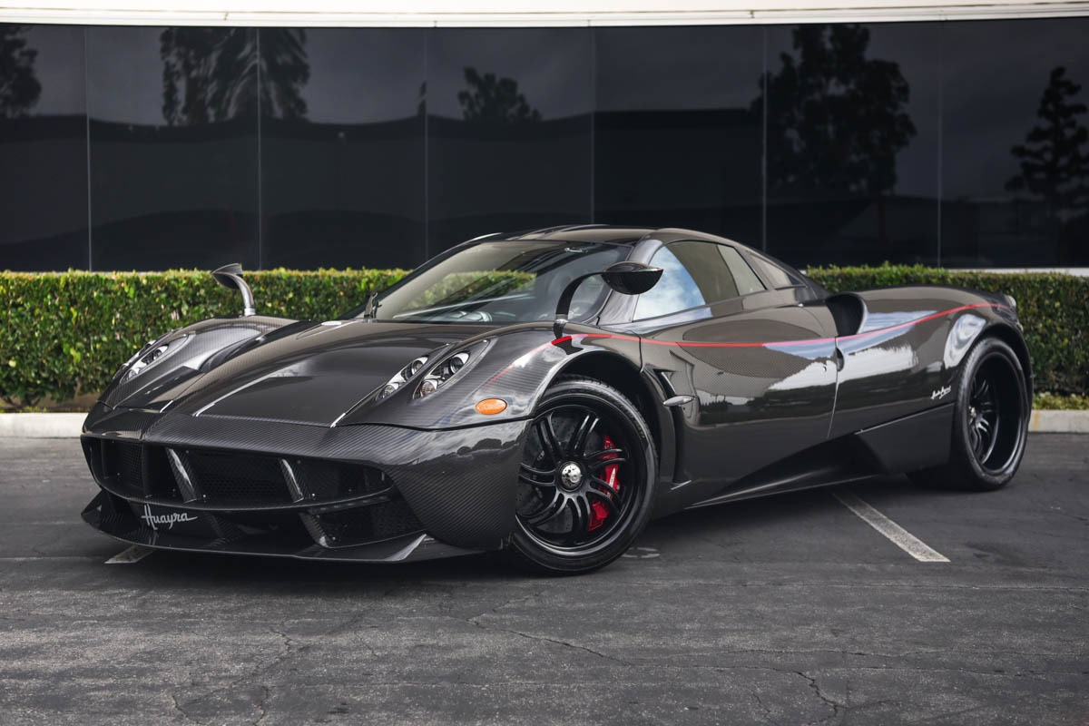 All Carbon Pagani Huayra For Sale In California