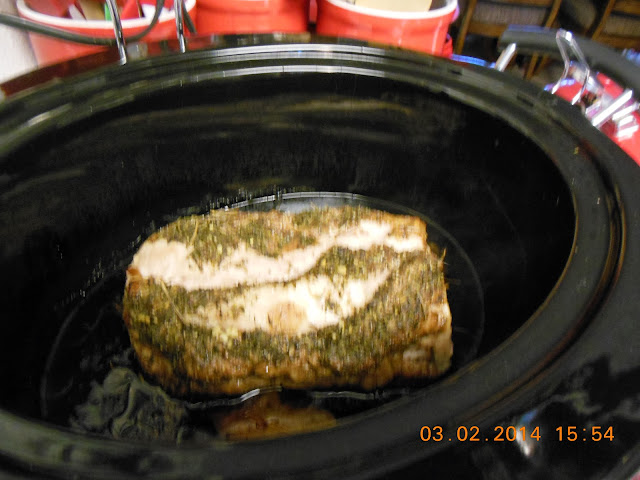Pork Loin in Balsamic Vinegar and Honey, a slow cooker recipe