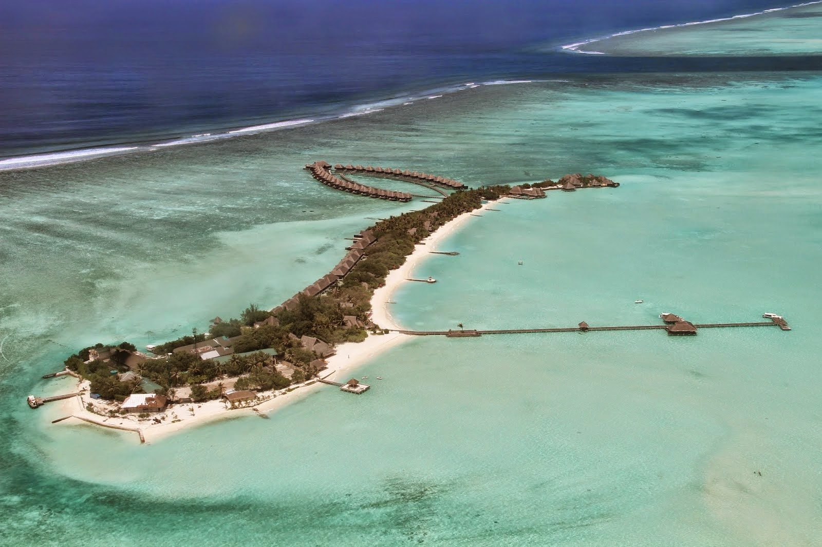 Resort Maldives Aerial View