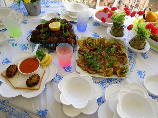 recette facile boulette d'artichaut#mbatten guenériya  recette tunisienne