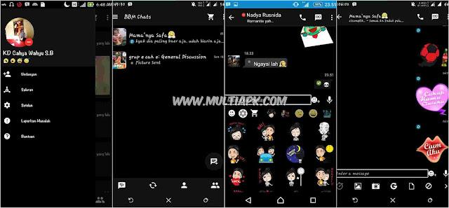 BBM Mod Black Mesenger v2.9.0.51 Apk