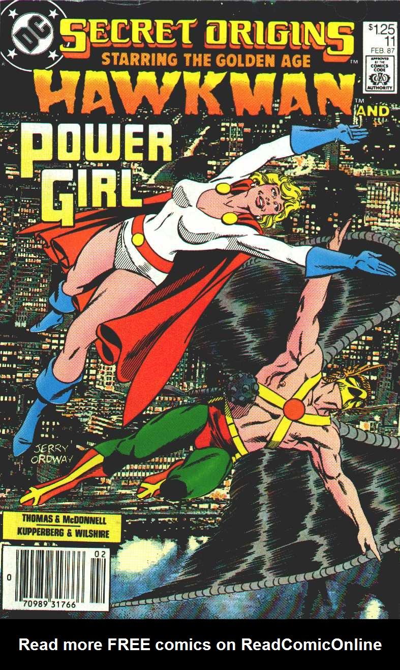 Read online Secret Origins (1986) comic -  Issue #11 - 1