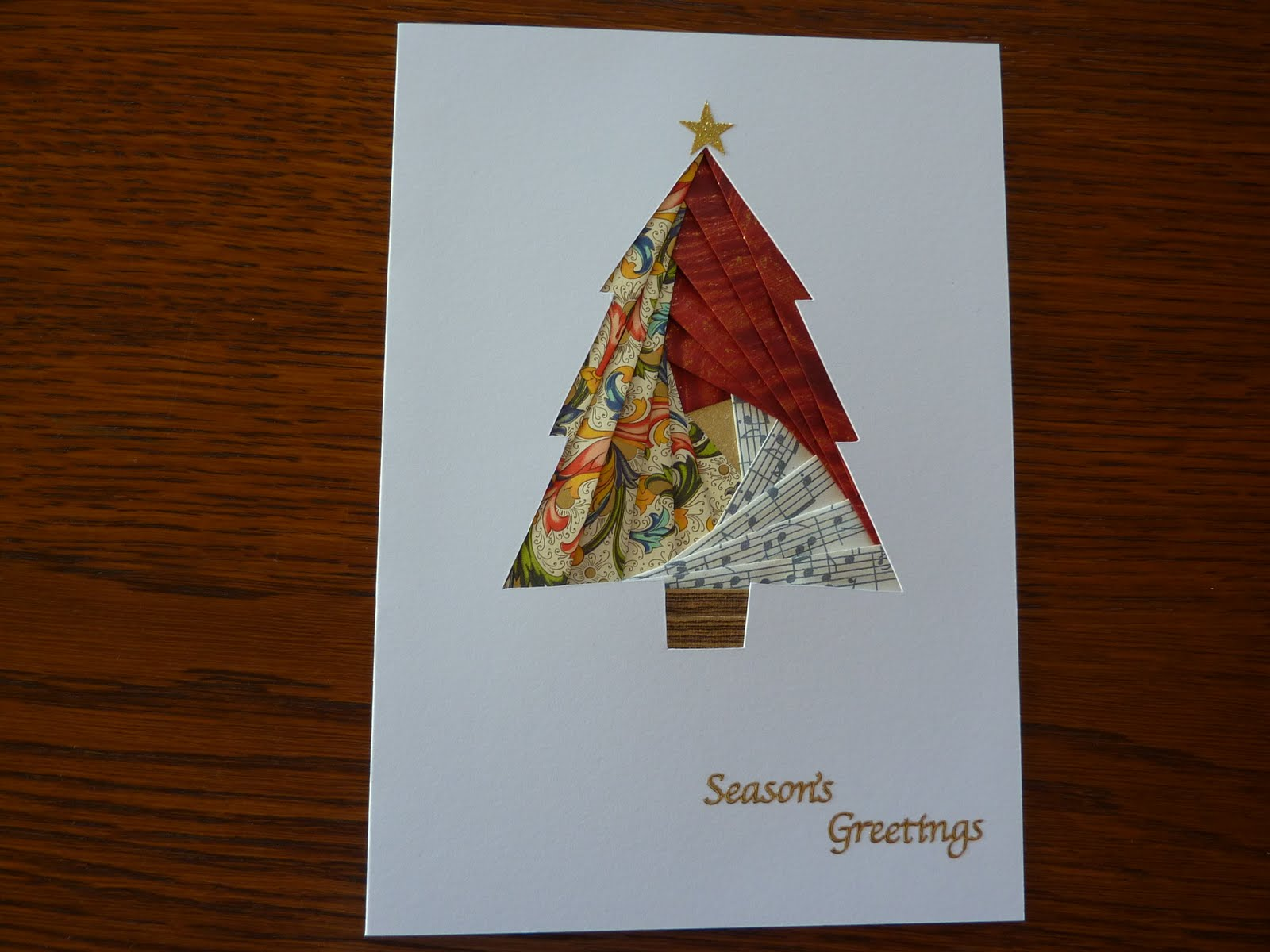 Sweet Pea Crafts: Iris Folded Christmas Cards