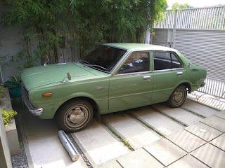 Koleksi Mobil Jadoel Toyota Corolla (corvet) tahun 1975, full original