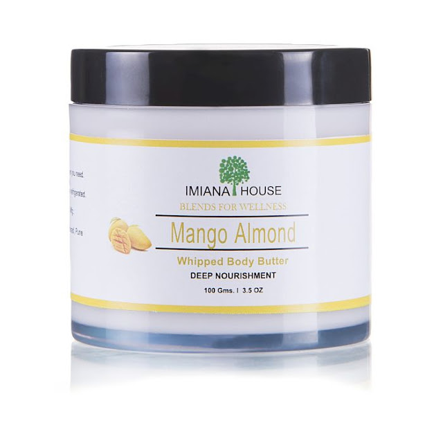 Imiana Mango Almond Body Butter Cream For Dry Skin