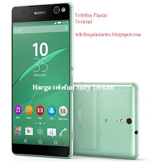Senarai Harga Telefon Pintar Sony