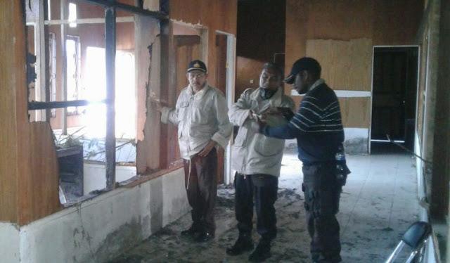 Polsek Sugapa Cegah Upaya Pembakaran Kantor Dinas Perhubungan Intan Jaya