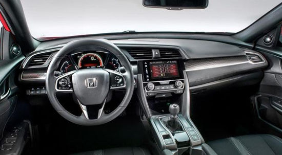 2019 Honda Civic Hatchback Turbo Exterior and Interior